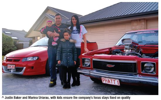 Meet the owner of Justpainted, Justin Baker and his family